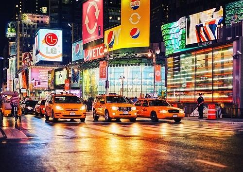 Улицы и авеню Нью-Йорка