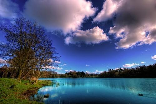 Озеро в Северной Ирландии