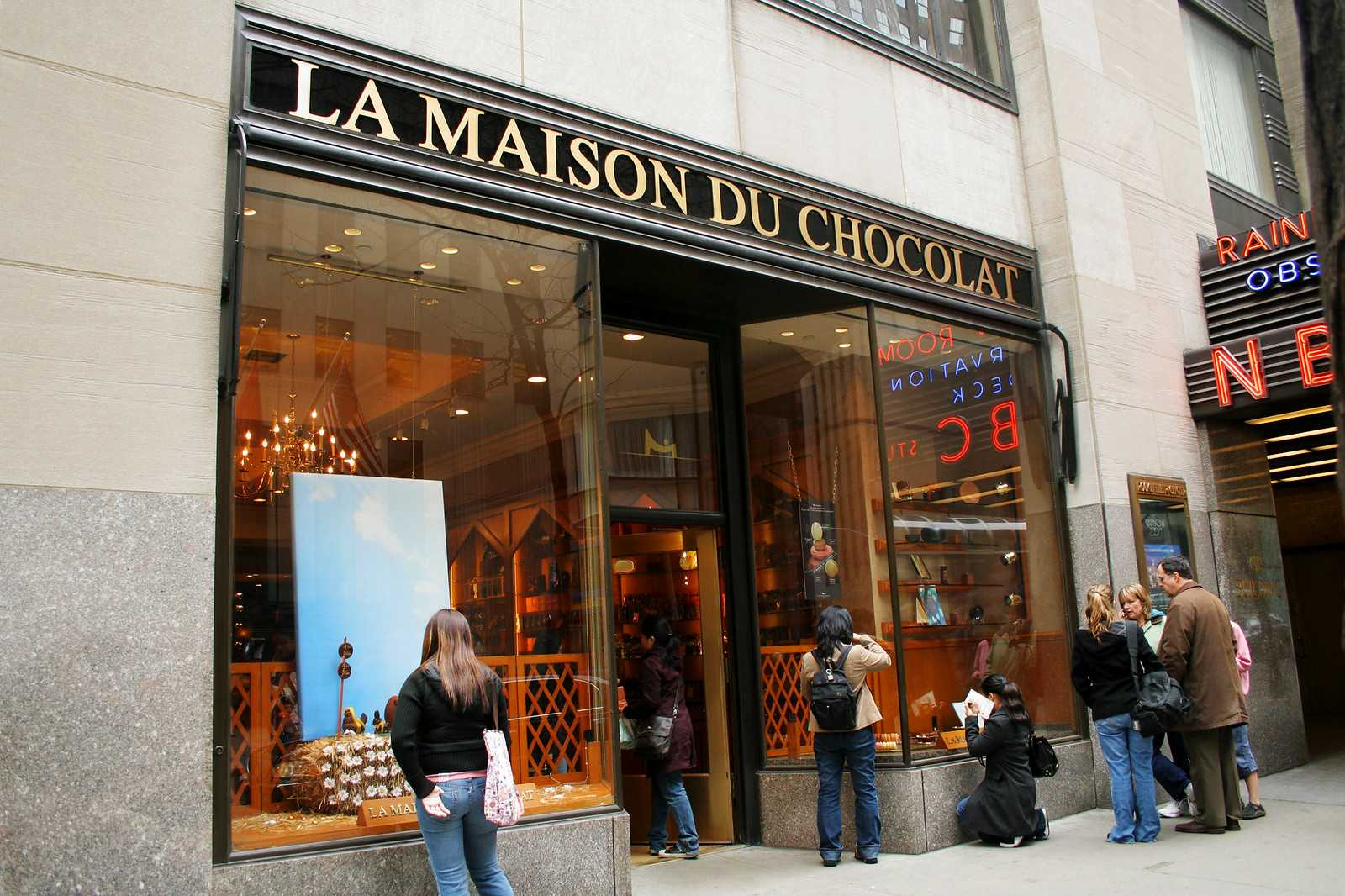 магазин шоколада Ле Маисон Дю Нью–Йорк