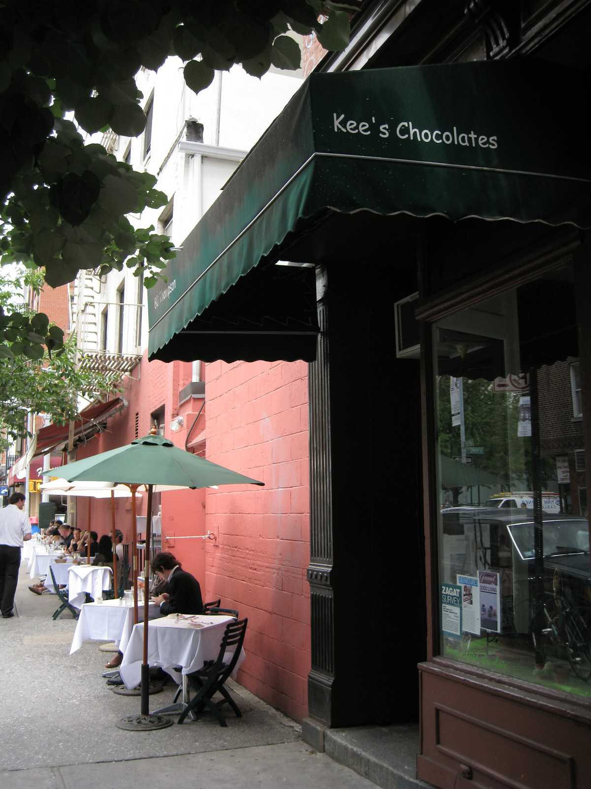 магазин шоколада Шоколад у Кии Kee's Chocolates Нью–Йорк