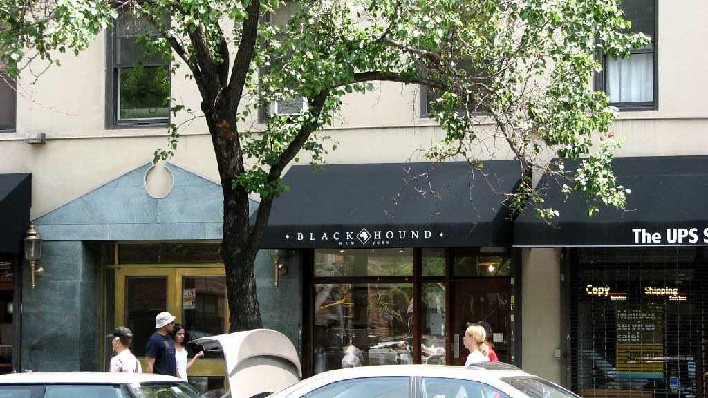 шоколадный магазин Блэк Хаунд Нью Йорк Black Hound