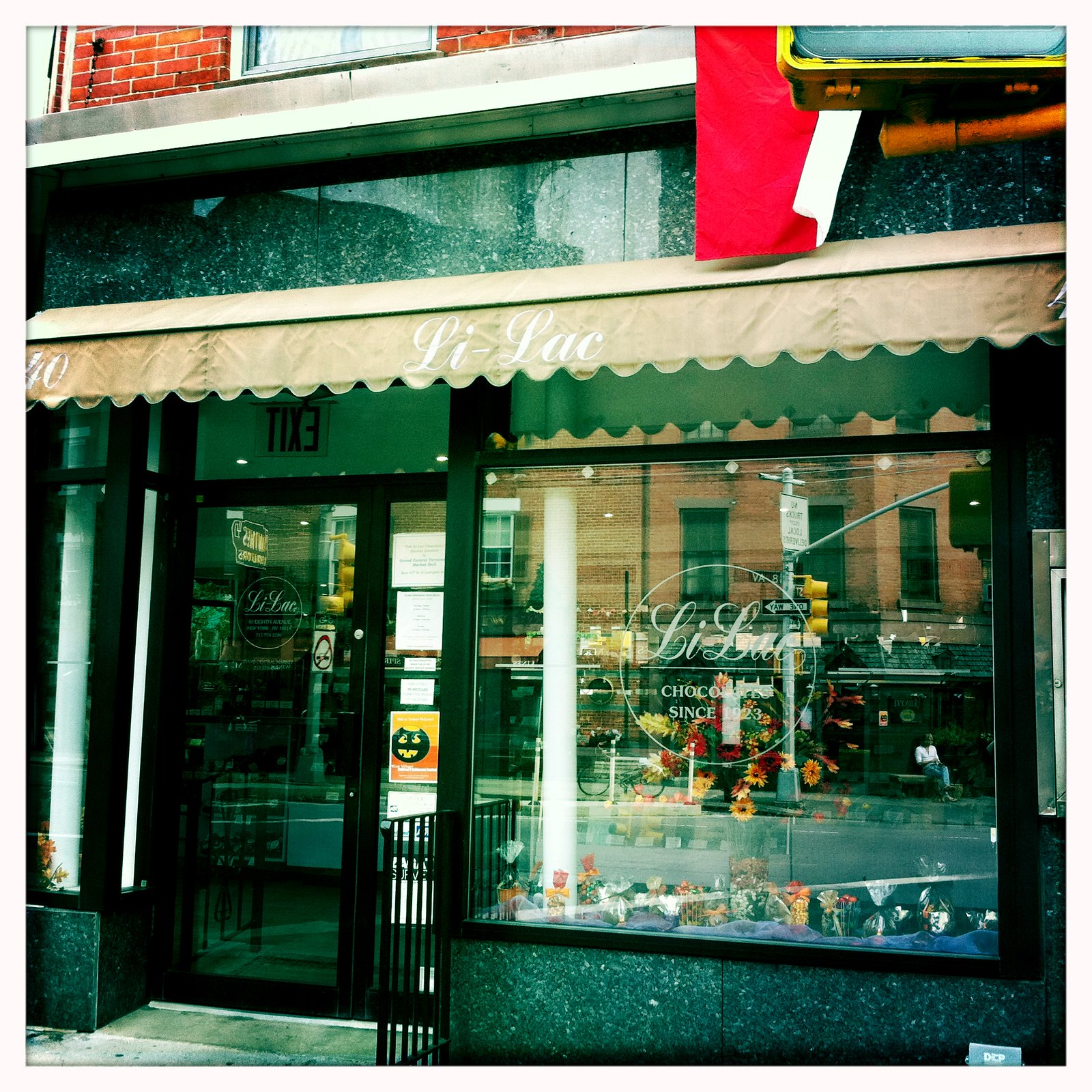 шоколадный магазин Ли-Лайк Шоколад Нью Йорк Li-Lac Chocolates