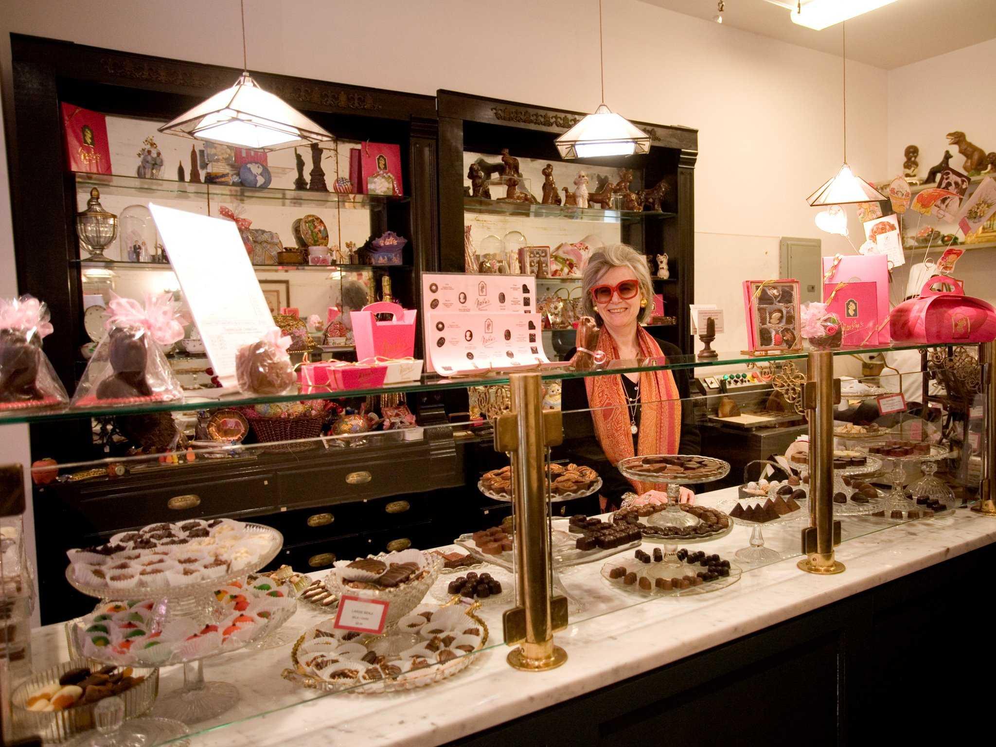шоколадный магазин Шоколад у Мартина Нью Йорк Martine's Chocolates