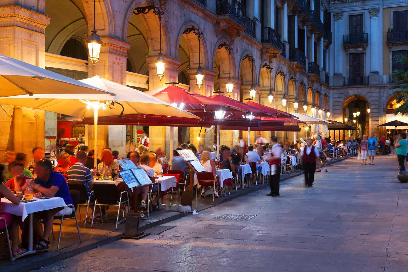 Ресторан в Испании