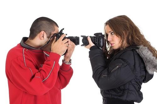фотографируют друг друга