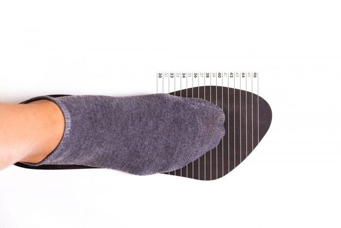 Как померять размер обуви