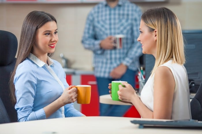 Разговор девушек
