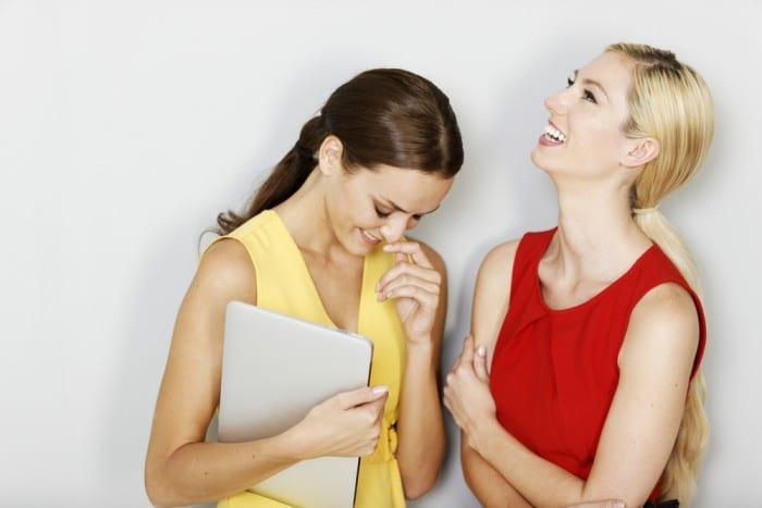 Разговор подруг
