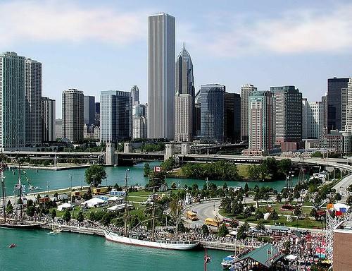 Чикаго скайлайн