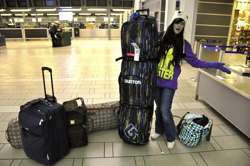 Как не потерять багаж во время авиапутешествия
