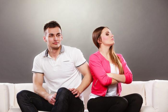Прерви контакт - Девушка с парнем
