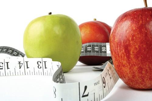 фрукты и метр