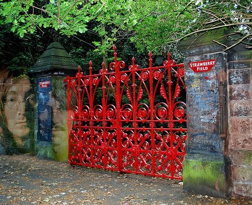 сад Strawberry Fields, Ливерпуль
