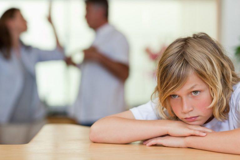 4 негативных момента влияния развода на ребенка