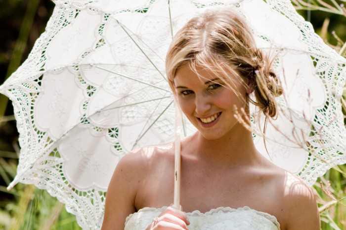 Рустикальный стиль невесты