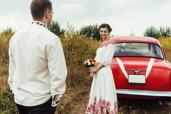 Стиль кантри невесты