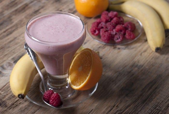 Классический ягодно-фруктовый сезонный смузи