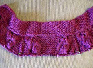 Вязание жгута или косички своими руками