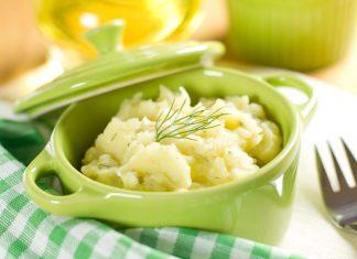 Приготовление картофельного пюре с чесноком и сыром