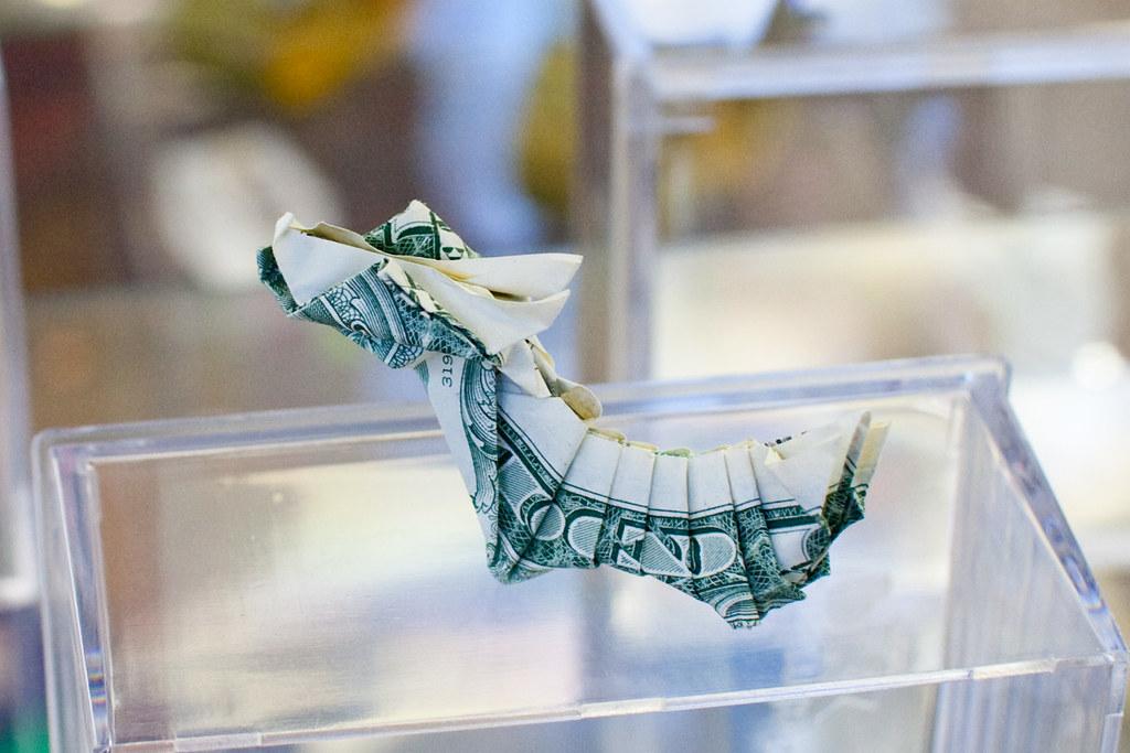 3D оригами драконьих лодок с интервалами