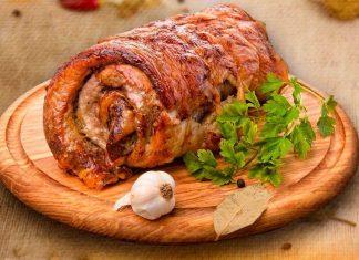Рецепт приготовления мясного рулета
