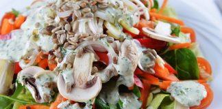 Грибной салат – Восторг