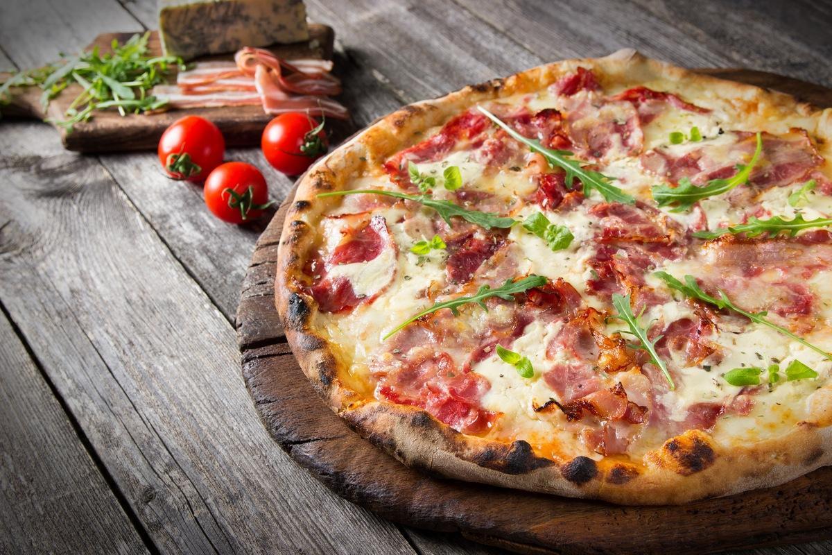 Итальянская Особая Пицца с Беконом