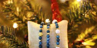 Новогодний браслет своими руками