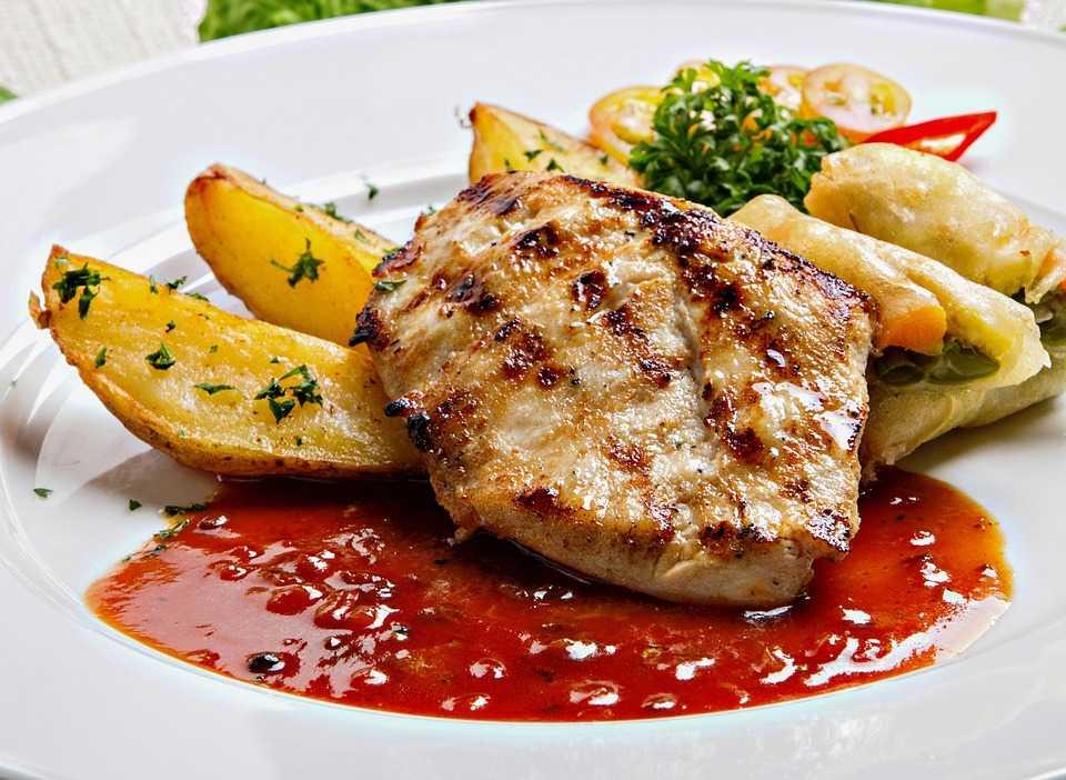 3 блюда из курицы в соусе - Рецепт приготовления курицы в кисло-сладком соусе