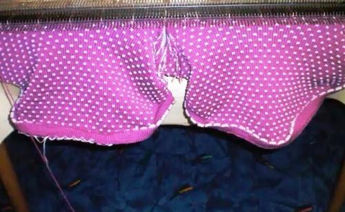 Вязание шарф-манишки