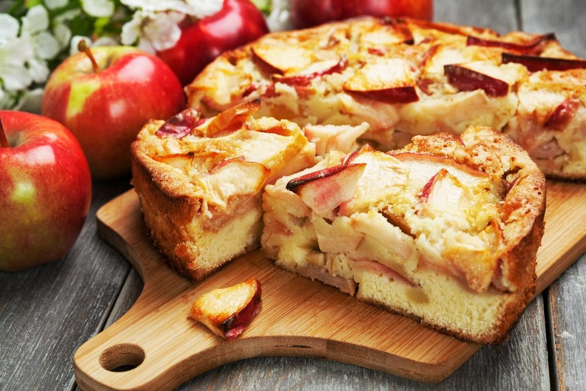 Apfelkuchen kochen