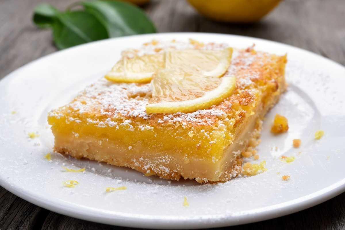 Zitronenkuchen machen