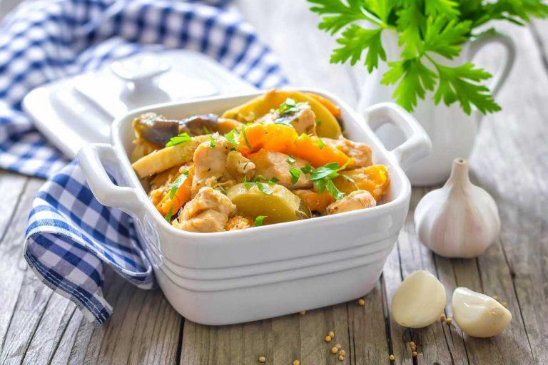 4 простых рецепта вкусного рагу из овощей
