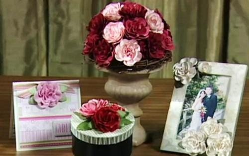 Создание розы из бумаги