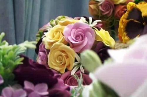 Мастер-класс по лепке роз из полимерной глины