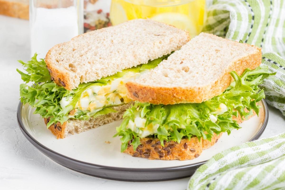17 способов сделать завтрак полезным - Правильный бутерброд
