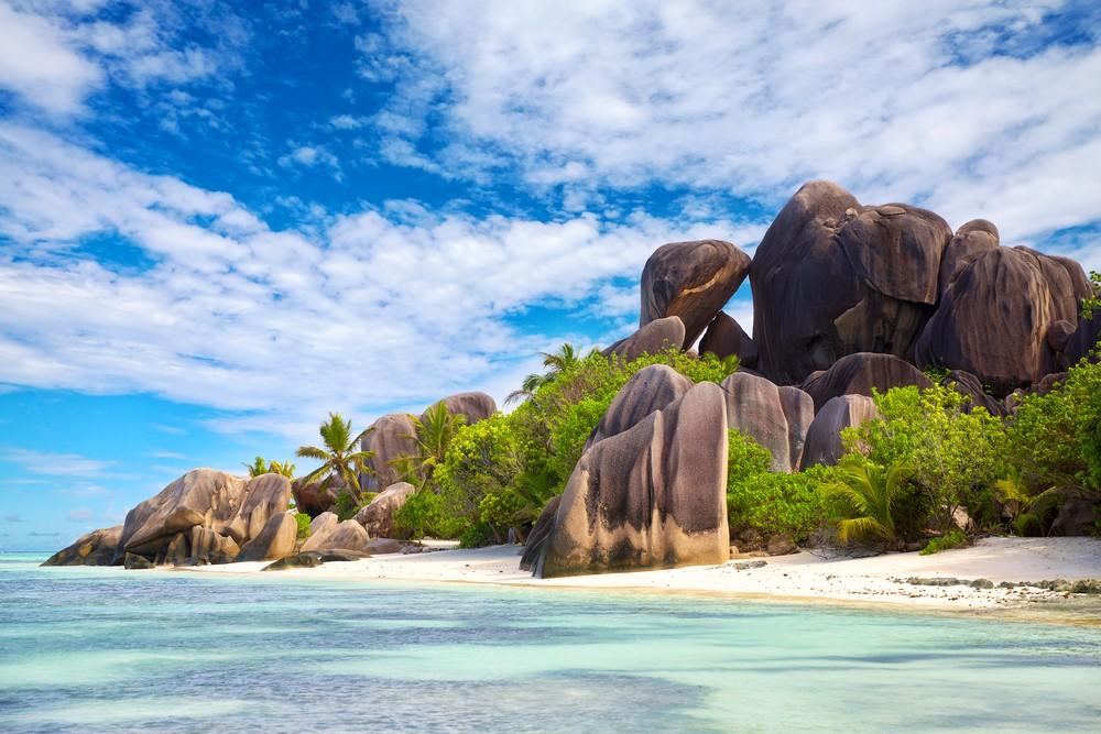 Пляж Ансе Сурс д'Аржан (Сейшельские острова)