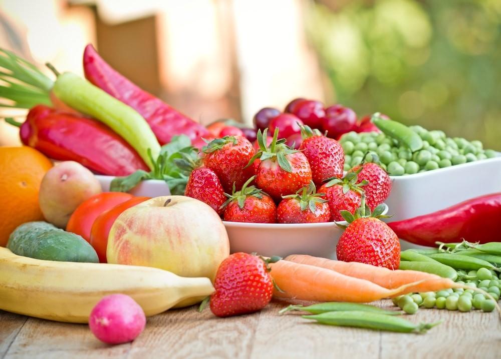 Кушай фрукты и овощи 5 раз в день