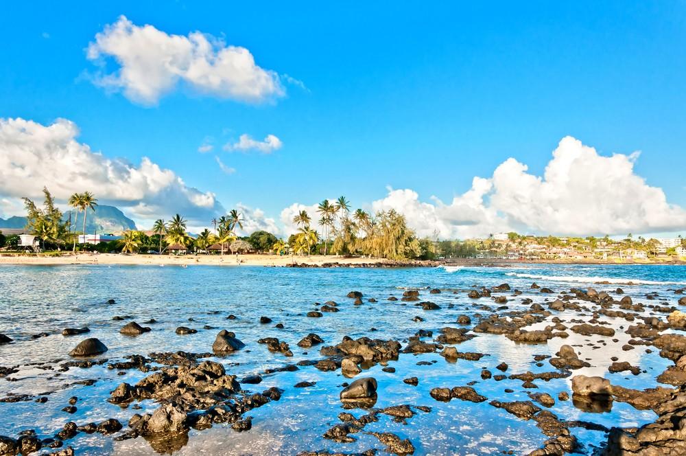 Пойпу-Бич(Кауаи,Гавайские острова)