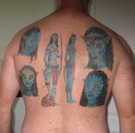 татуировка Аватар