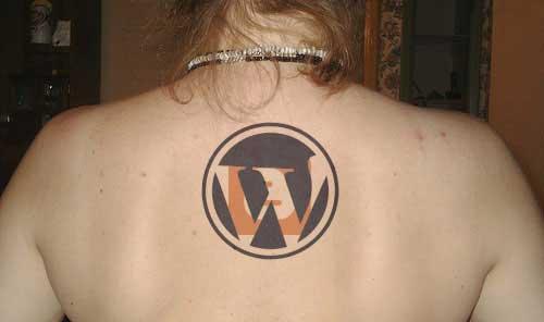 татуировка вордпресс