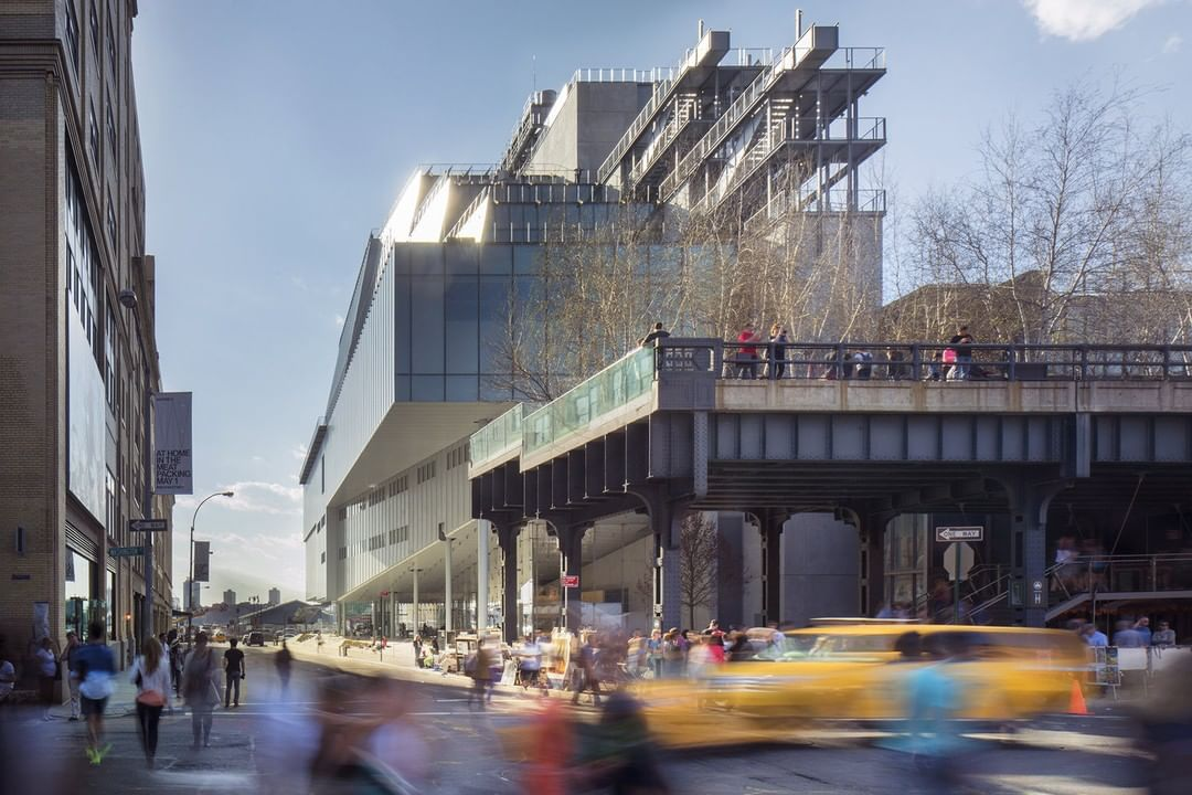 Музей американского искусства - Уитни Нью Йорк - Whitney Museum of American Art