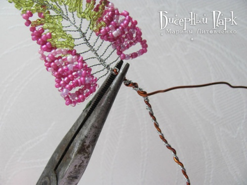 МК по плетению Вереска из бисера