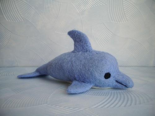 Мыло-мочалка «Дельфинчик»