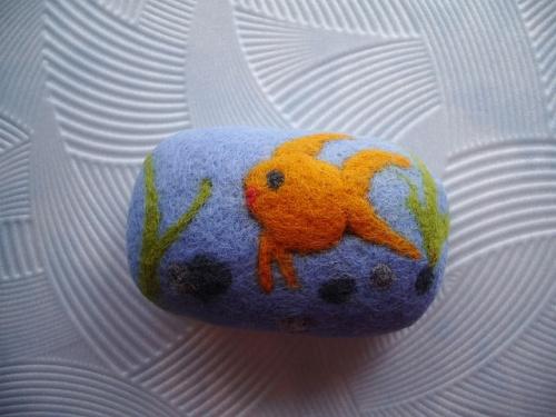 Мыло-мочалка «Золотая рыбка»