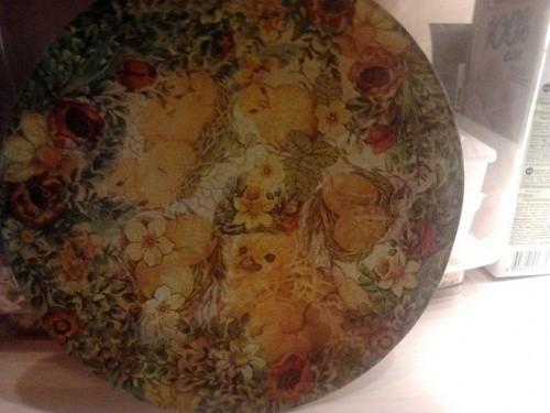 Пасхальная тарелка «Веселые цыплята»