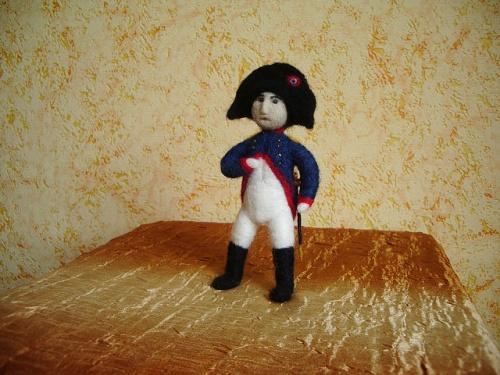 Каркасная кукла «Наполеон»