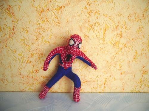 Каркасная кукла «Спайдермен»