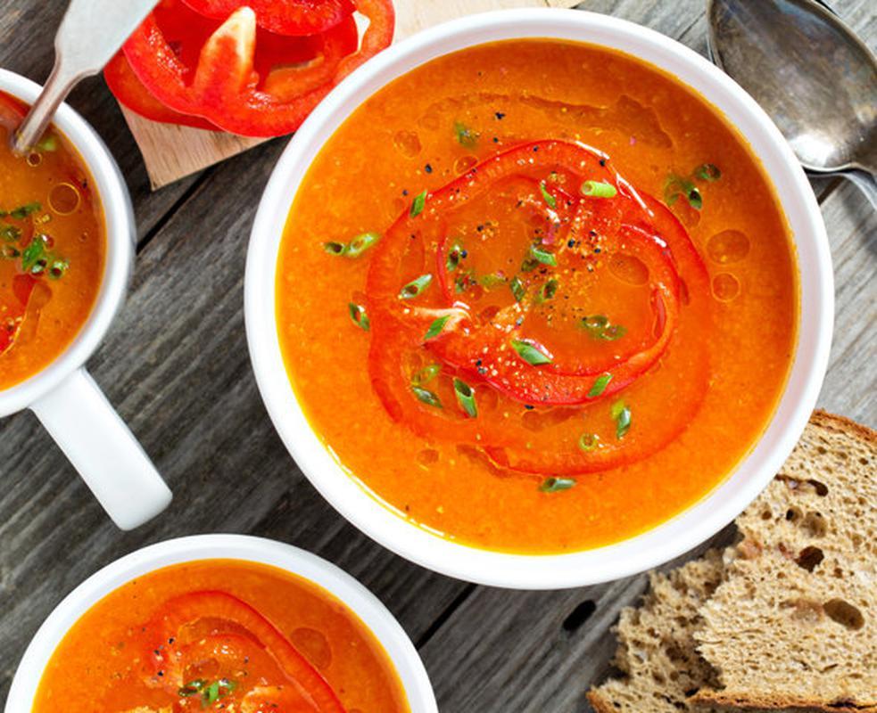 Рецепты фантастически вкусных супов - Суп из болгарского перца