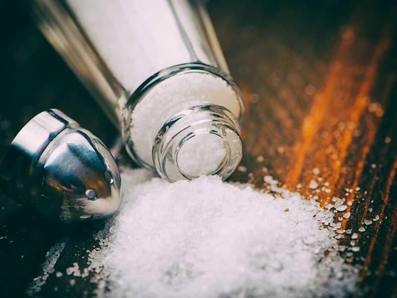 Соль при вздутии живота
